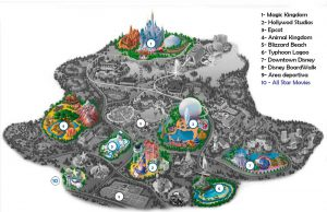 Disney's All-Star Movies Resort - Mapa