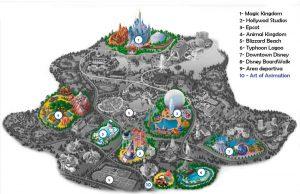 Art of Disney Animation Resort - Mapa
