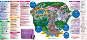 Mapa de Magic Kingdom