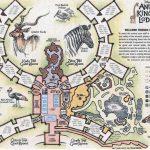Mapa Oasis - Animal Kingdom