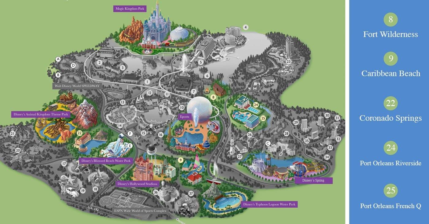 Mapo localización hoteles Moderados