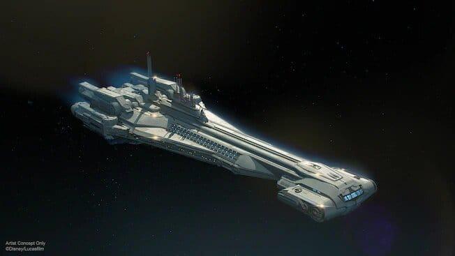 Nave Star Wars Galactic Starcruiser Resort