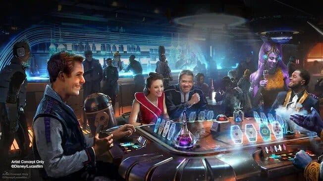 Recepción Star Wars Galactic Starcruiser Resort