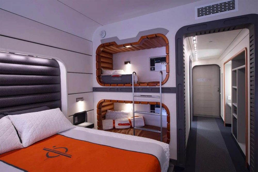 Habitación Star Wars Galactic Starcruiser Resort